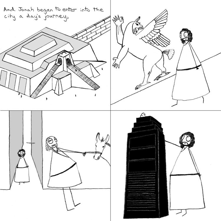 how to draw ziggurat