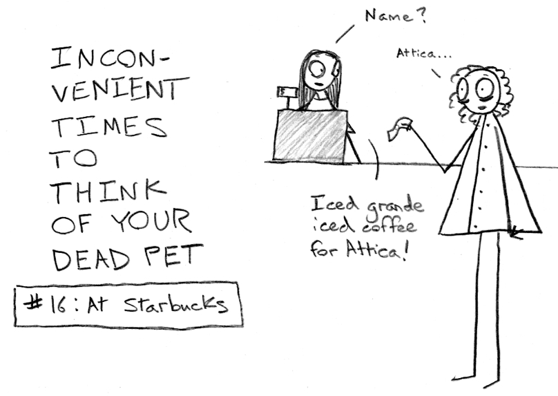 Inconvenient Times to Think of Your Dead Pet
