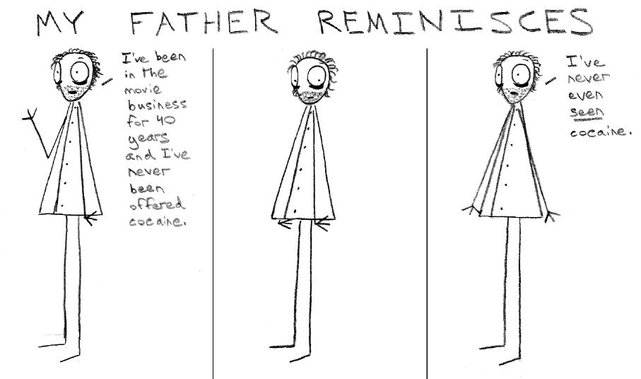 My Father Reminisces