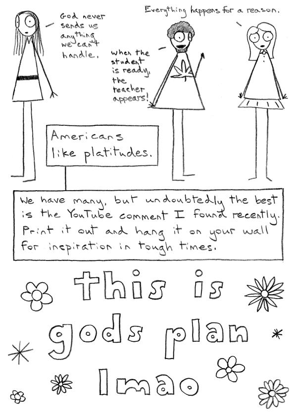 Platitudes