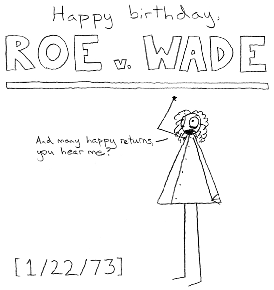 Who's old enough to remember the joke about how Dan Quayle thinks Roe v. Wade is two methods for crossing a river?