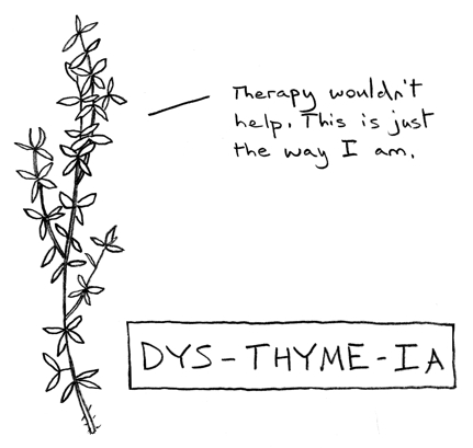And thymus has a third different etymology too, I think?