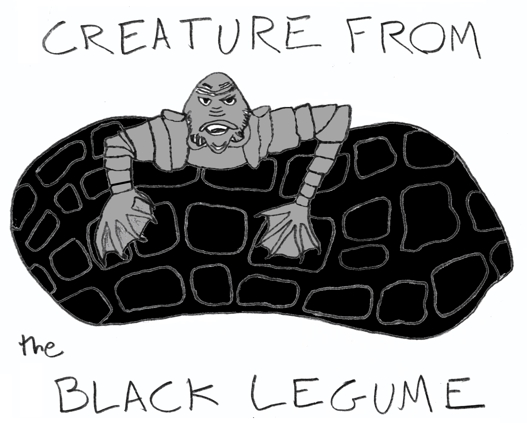 The Creature is also kind of hard to draw, because of all those plates.